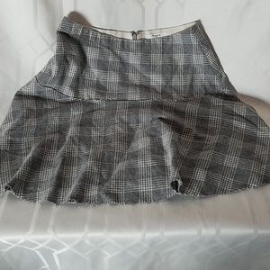 Madewell grey school girl skirt women's size 2